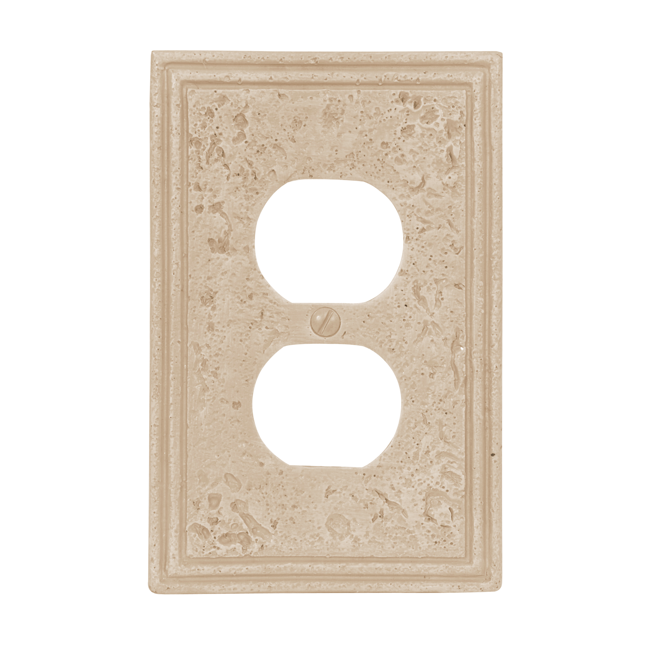Faux Stone Travertine Textured Stone Resin Switch Plate U0026 Outlet Covers