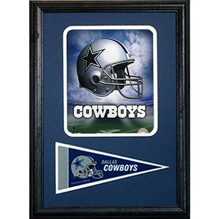 NFL Dallas Cowboys Pennant Frame, 12x18 - Dallas Cowboys Office Supplies