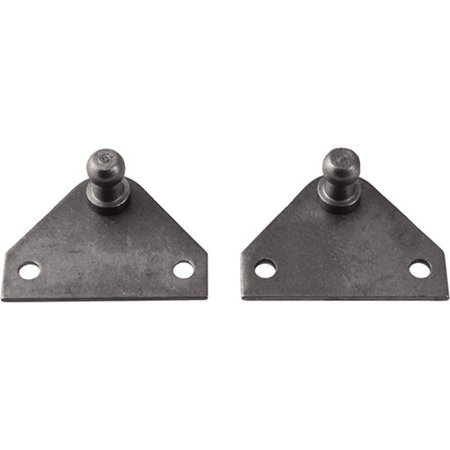 Attwood 90 Degree Gas Spring Mounting Bracket Ball  2 Holes  Stainless Steel