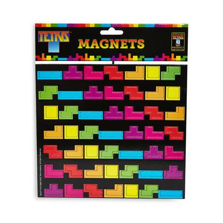 Tetris Magnets Fridge Novelty Magnet Video Game Gift Old School Arcade 80s