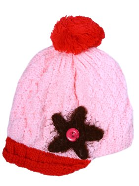 005f914074a Product Image Kids Baby Toddler Winter Warm Hat Knit Girls PomPom Beanie  Pink. BASILICA