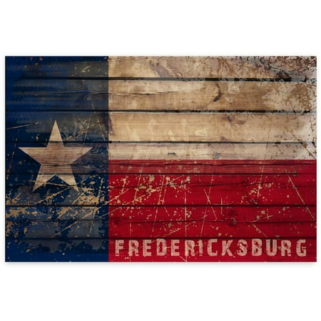 Awkward Styles Gillespie County Flag Printed Decor Fredericksburg TX Flag The Texas Hill Country Texas Flag Poster Dining Living Room Decor Ideas Souvenirs Printed Art Pictures American Tourism ()