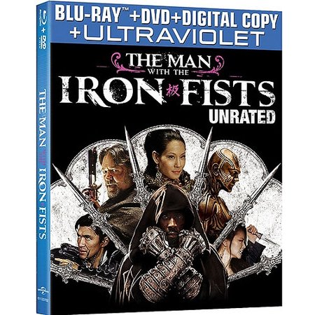 The Man With The Iron Fists (Unrated Extended Edition) (Blu-ray + DVD + Digital Copy + UltraViolet)