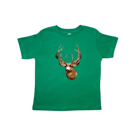 Deer Head Hunter Toddler T-Shirt