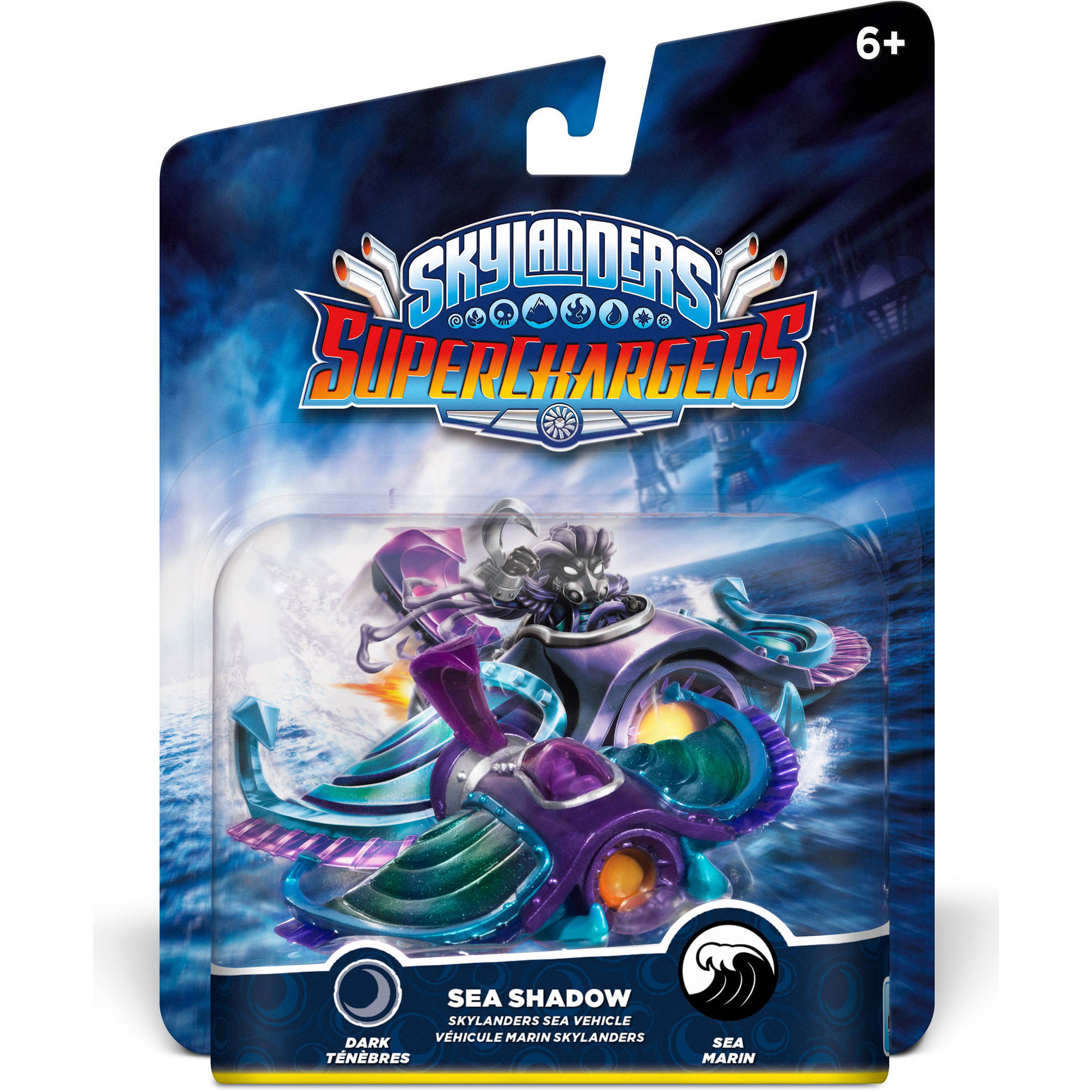 Skylanders Superchargers Vehicle Sea Shadow Character Pack (Universal)