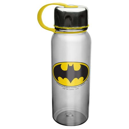 Batman Water Bottle with Grip Band by Zak!