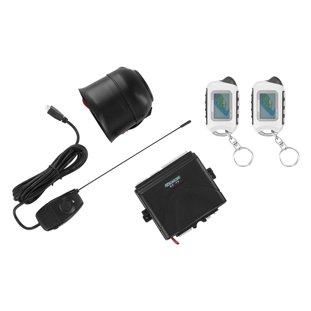 Click here to buy EZ-Starter EZ85 2-Way Remote Start and Security System with 2 Remotes by EZ-Starter.