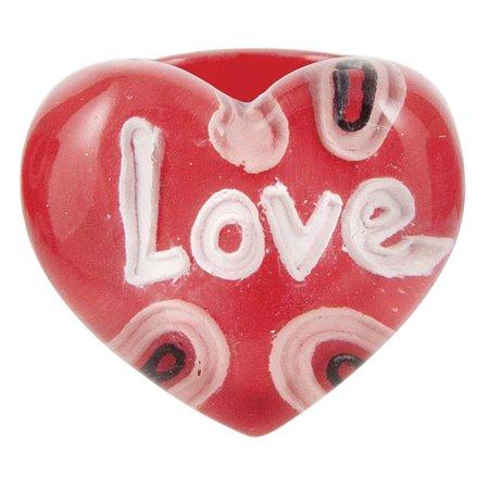 Ganz Red Heart Rings  Love   Valentines Fashion - Valentine Ring