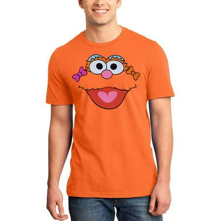 Sesame Street Zoe Face Adult - Sesame Street Adult