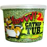 Yeowww! Singles, Catnip, 2oz Tub