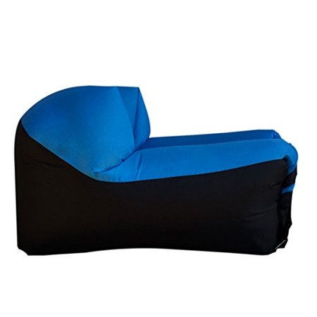 Woohoo 2 0 Giant Inflatable Lounger Chair With Carry Bag Inflates In Seconds Hangout As Lounge Bean Air Ha