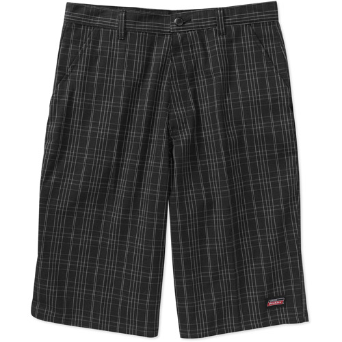 "Dickies Men's 13"" Inseam Plaid Work Shorts"