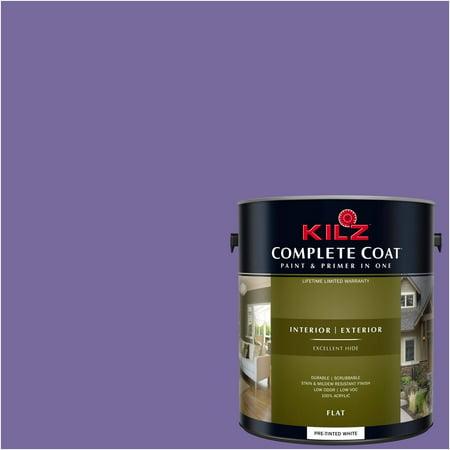 Kilz Complete Coat Interior Exterior Paint Primer In One Rh260 Mystical Purple
