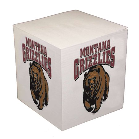 Montana Cubes (Montana Grizzlies Sticky Note Memo Cube - 550 Sheets)
