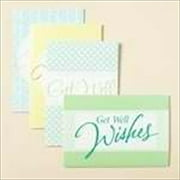 Card-Boxed-Get Well-Large Print (Box Of 12)