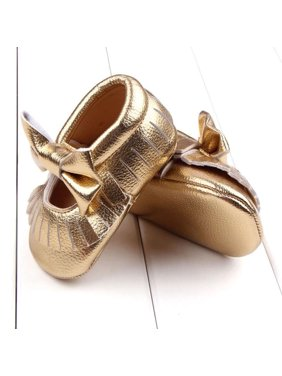 6fa57789a Product Image Baby Girl Crib Bowknot Shoes Toddler Casual Shoes GD/12
