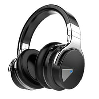COWIN E7 Active Noise Cancelling Headphones Bluetooth Headphones with Mic Deep Bass Wireless Headphones Over Ear