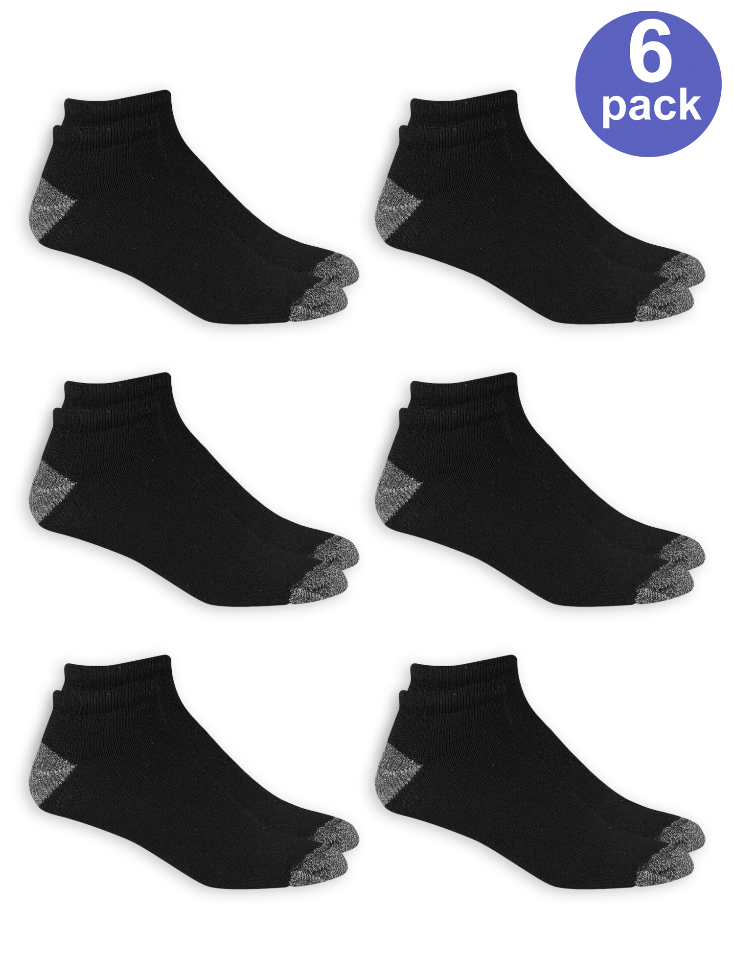 6 Or 12 Pair Sports Sneaker Socks Men/'s With Terrycloth Sole Reinforced New