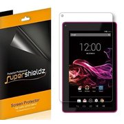 [3-Pack] Supershieldz RCA 7 Voyager 7 Tablet (RCT6773W) Screen Protector, Anti-Bubble High Definition (HD) Clear Shield