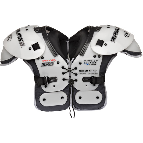 Rawlings Titan JR1 Shoulder Pad with Extension PE Plates