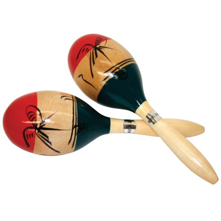 GP Percussion MMAR Wooden Mexican Maracas - Wooden Maracas Wholesale