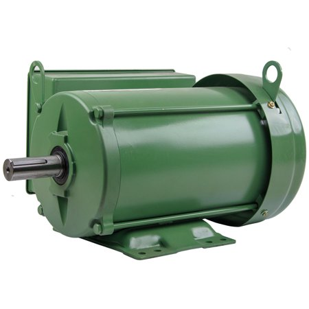 3 HP Farm Duty Single Phase Electric Motor 1800 RPM 184T Frame TEFC 208/230