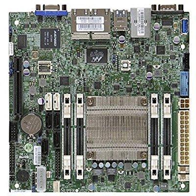 Sun 900 Mhz Cpu - Supermicro Mini ITX A1SRI-2558F-O Quad Core DDR3 1333 MHz Motherboard and CPU Combo