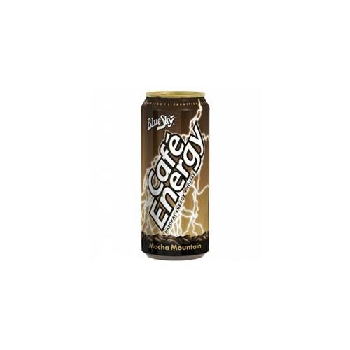 Blue Sky Mocha Mountain Caf? Energy 15 Ounce Cans (Pack Of 12)