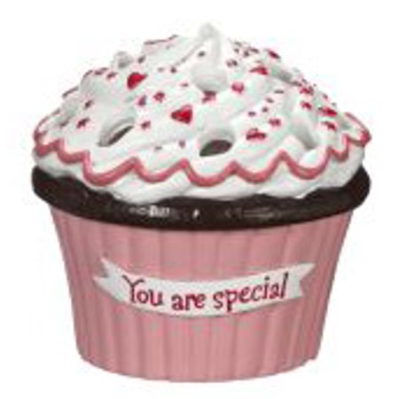 Cupcake Bouquet Vases (You Are Special) - Ganz Cupcake Flower -