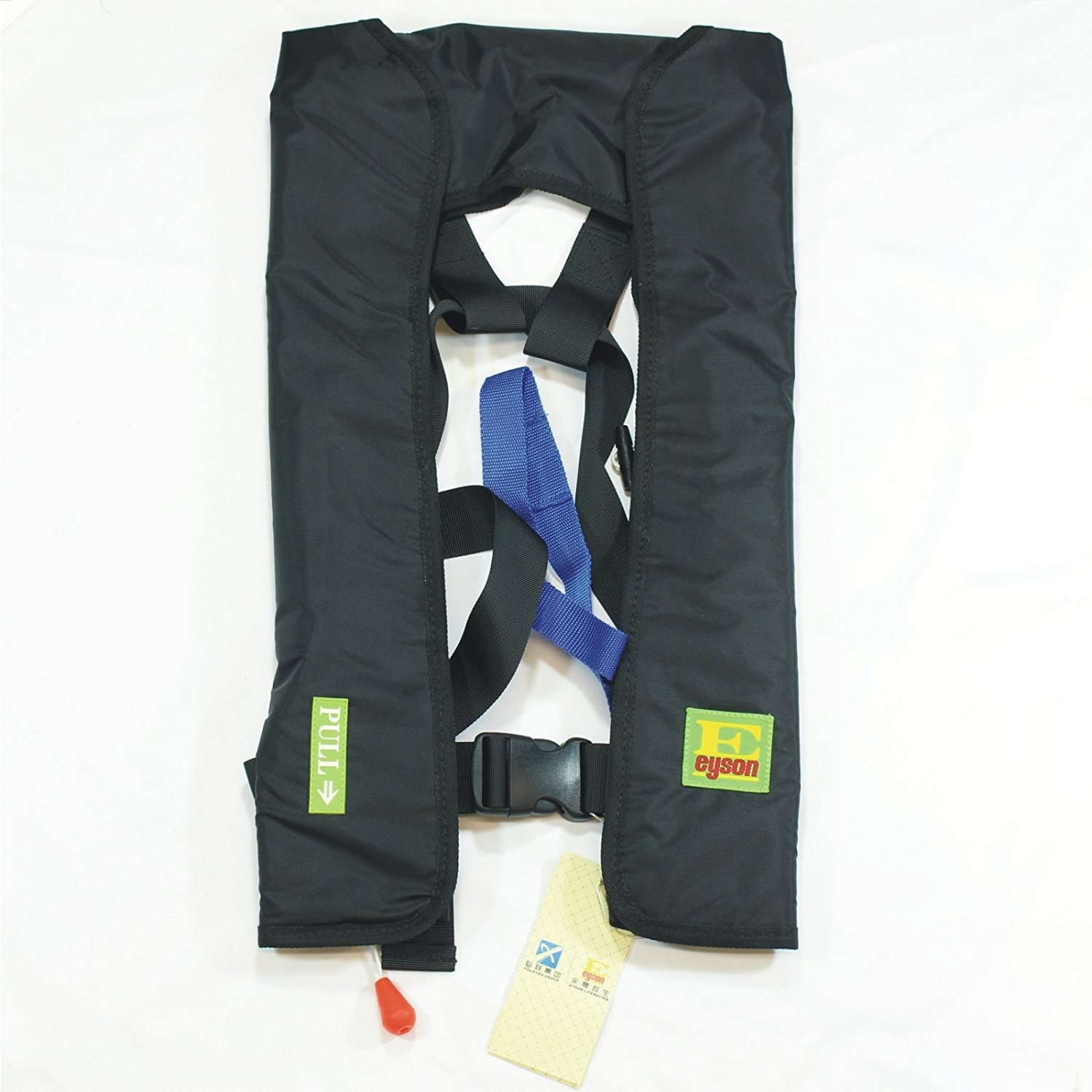 Click here to buy Lifesaving Pro Manual Inflatable Life Jacket Lifejacket PFD Floating Life Vest Inflate Survival Aid Lifesaving PFD Basic... by Lifesaving Pro.