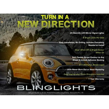 Mini Cooper Led Side Mirror Turn Signal Lamp Light Pair R50 R52 R53 R55 R56 R57 R58 R59 R60 R61