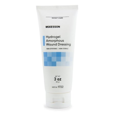 McKesson Hydrogel Amorphous Dressing 3 oz., NonSterile, 1 -