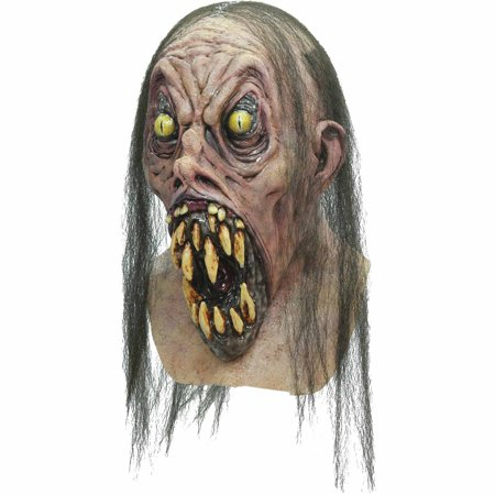 Possessed Latex Mask Adult Halloween Accessory (Possessed Person Halloween)