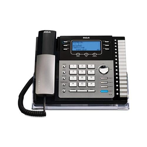RCA ViSYS 25424RE1 Four-Line Phone with Caller ID RCA25424RE1
