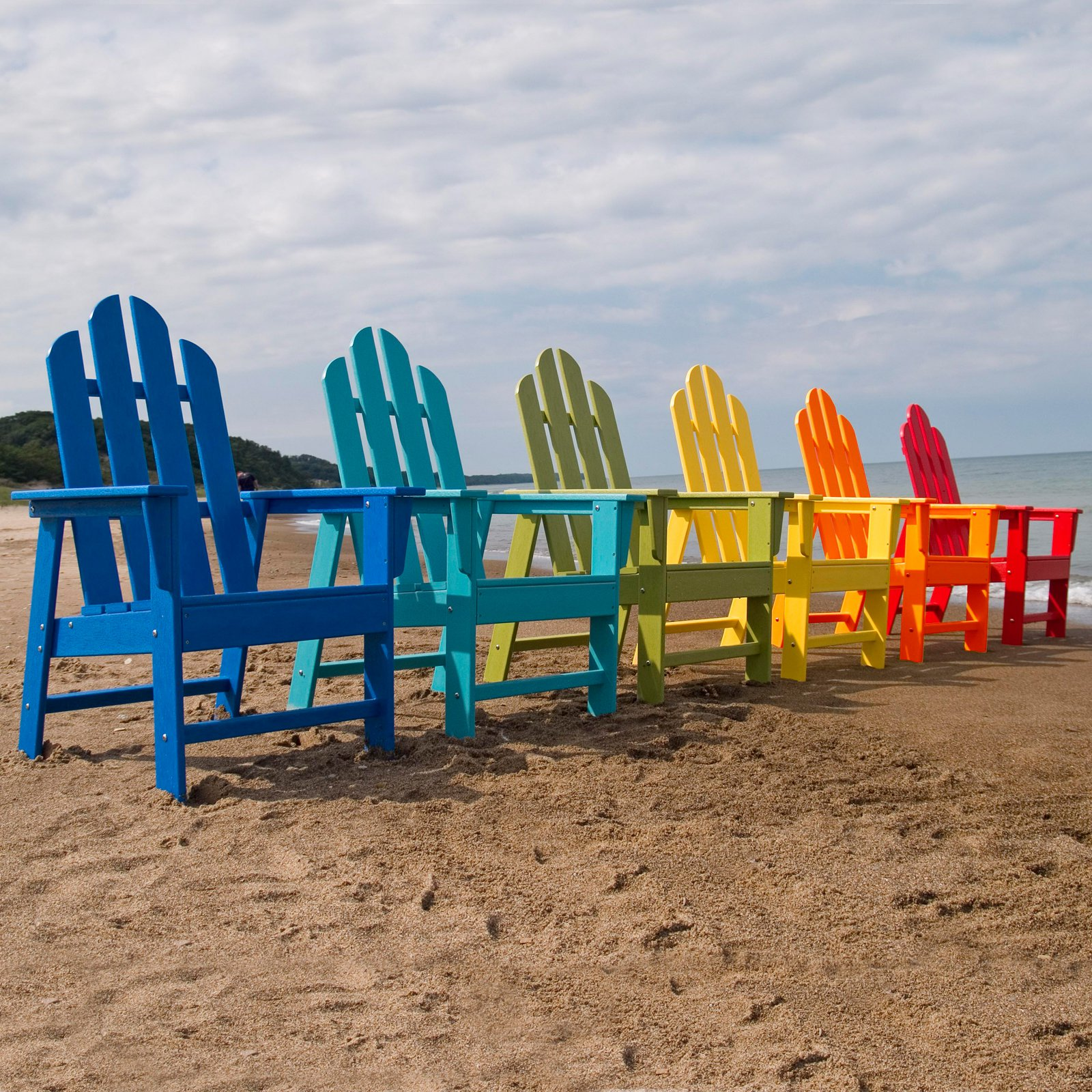 POLYWOOD® Long Island Recycled Eco-Friendly Plastic Adirondack Chair
