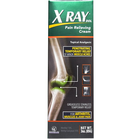 Explorer X-ray (X Ray Dol Pain Relieving Cream, 3 oz)