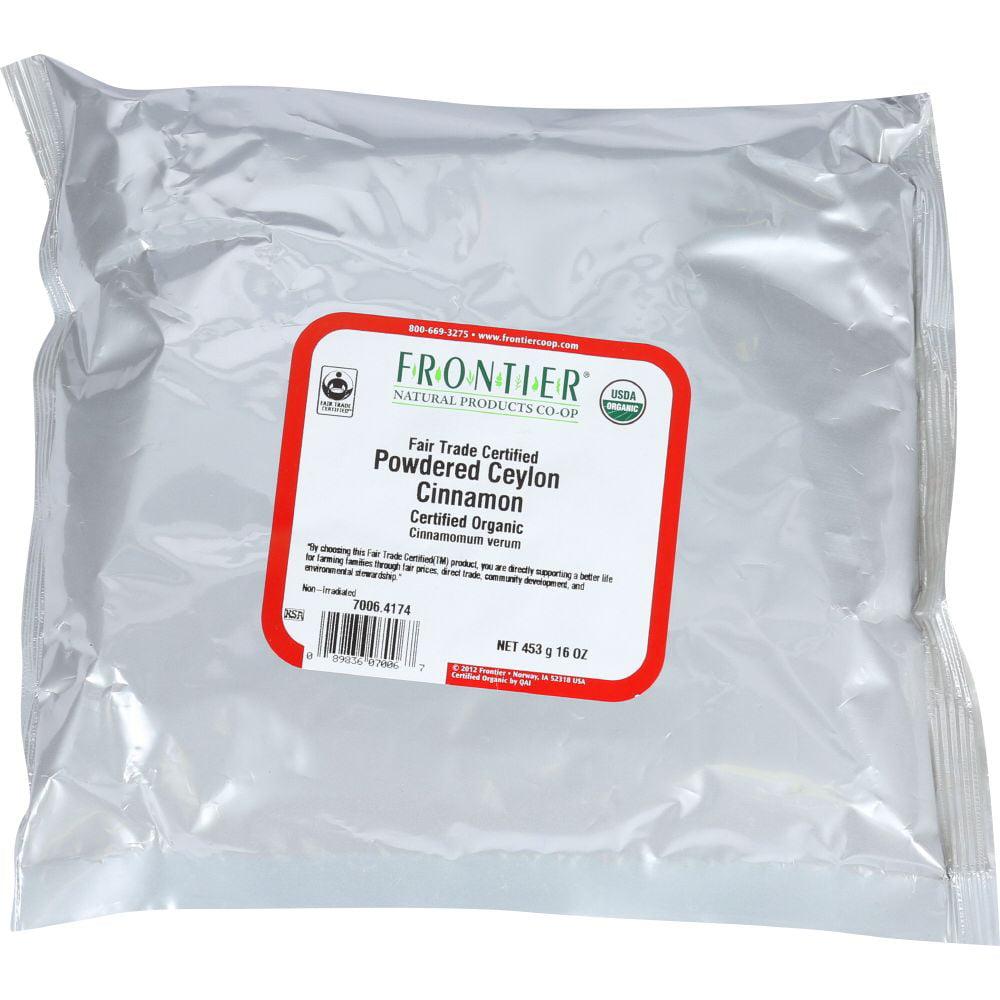 Frontier Herb Ceylon Powdered Cinnamon, 16 Oz