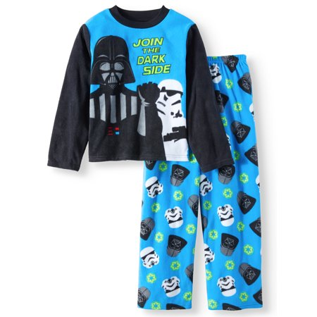 Boy's Star Wars 2 Piece Long Sleeve Pajama Sleep Set (Big Boys & Little - 2 Piece Long Sleeved Pajamas