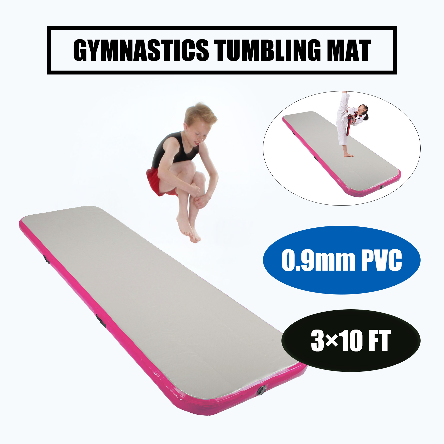 Inflatable Air Tumbling Air Track Floor Home Gymnastics Tumbling Mat