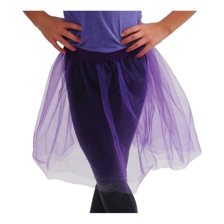 Purple Retro 80s Colorful Tu Tu Tutu Skirt Costume Accessory - 80s Tutu Skirts