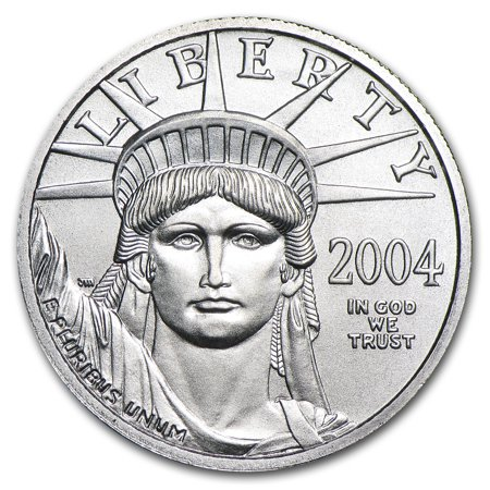2004 1 4 Oz Platinum American Eagle Bu