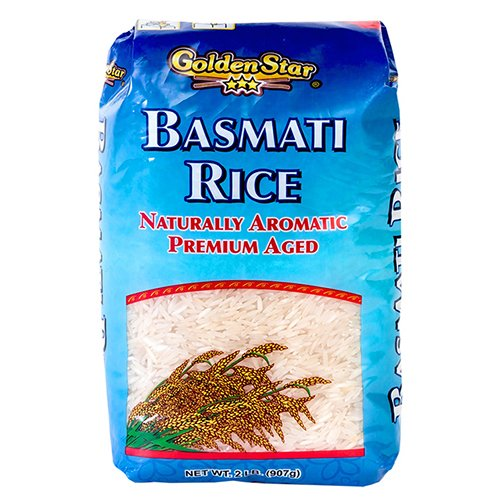 Golden Star Basmati Rice, 2 lbs