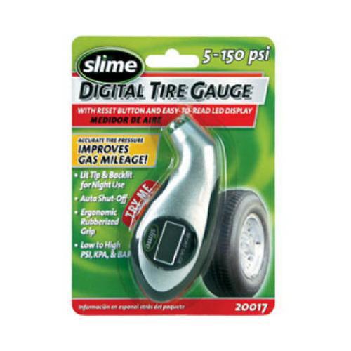 Slime 20017 5-150 PSI Digital Pressure Gauge