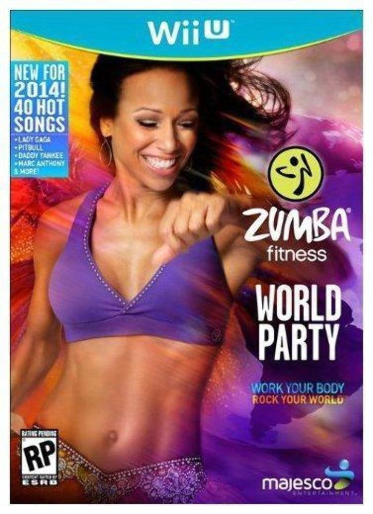 Majesco Zumba Fitness World Party (Game ONLY) Nintendo Wii U by