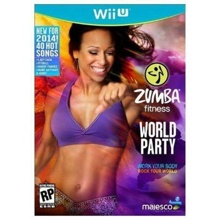 Majesco Zumba Fitness World Party (Game ONLY) - Nintendo Wii U
