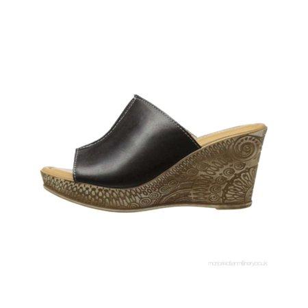 Bella Vita Damenschuhe Dax Toe Leder Peep Toe Dax Casual Mule Sandales Walmart  32a4c2