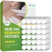 Skin Tag Remover Patches 120 (Pcs), Natural Ingredients Skin Tag Remover, New and Improved Formulation Skin Tag Removal patches