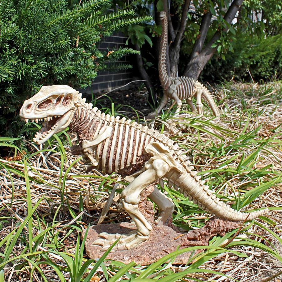 Bad to the Bone, Jurassic T-Rex Raptor Dinosaur Statue