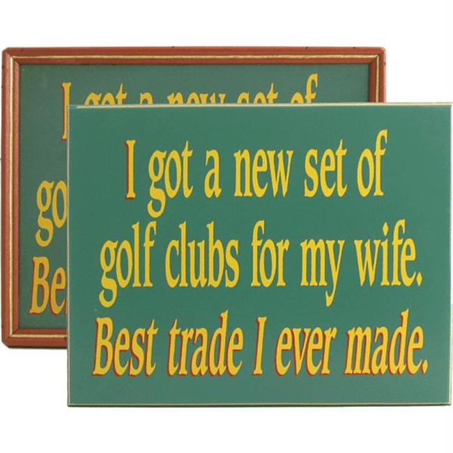 Davis and Small Decor 2063 Best Trade-golf-wife