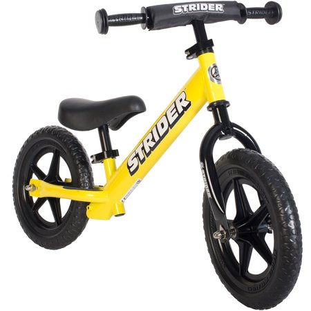 "Strider Sport 12"" Kids' Balance Bike - Yellow"